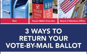 3 Ways to Return your Ballot